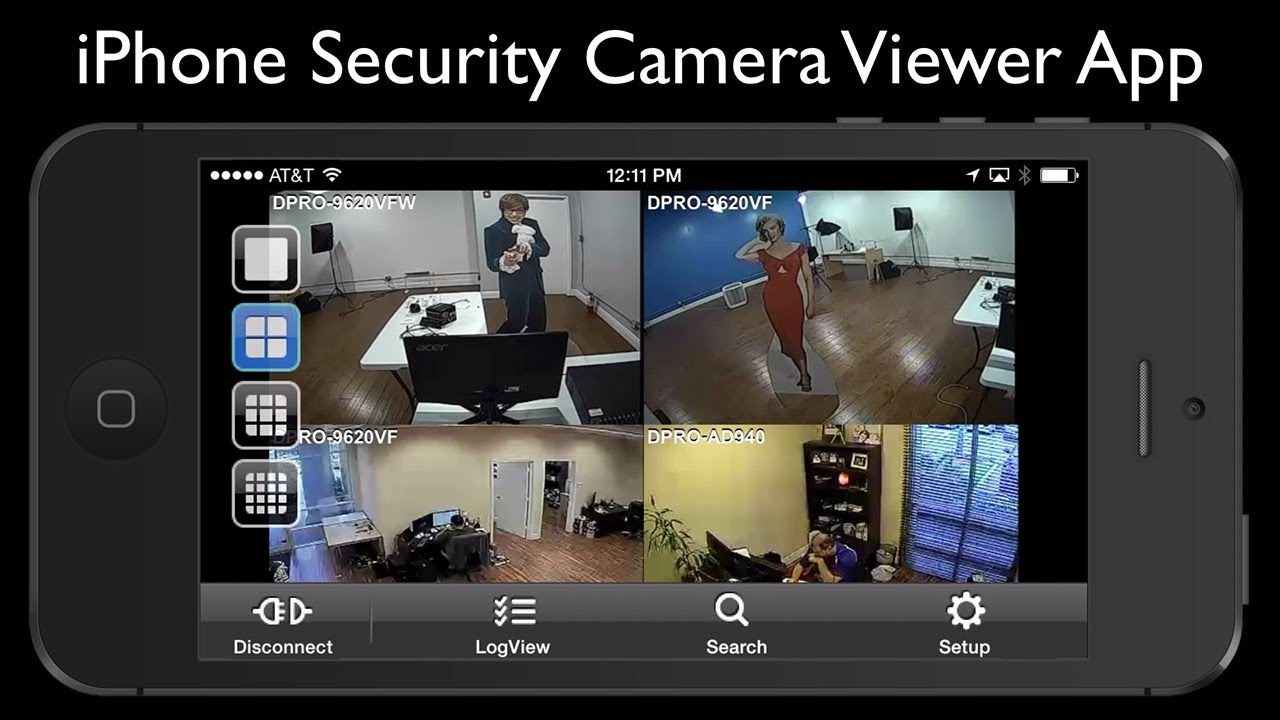 application camera surveillance pour iphone