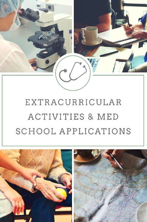 best extracurriculars for medical school application