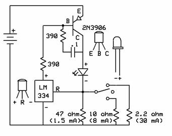 application of fet as a voltage variable resistor