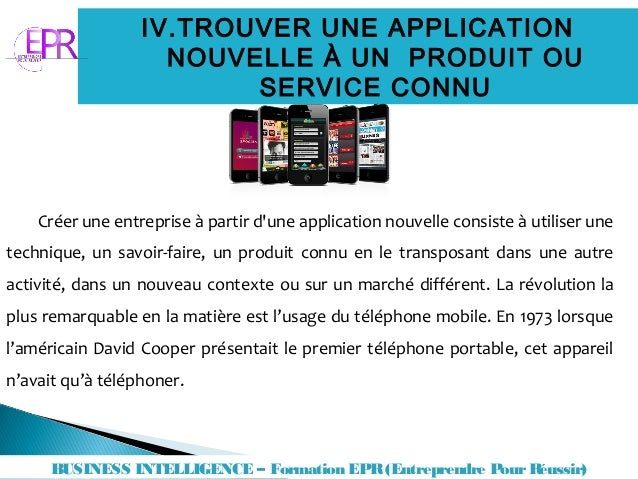 une application mobile trouver un service