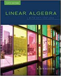 linear algebra with applications 7th edition keith nicholson answers