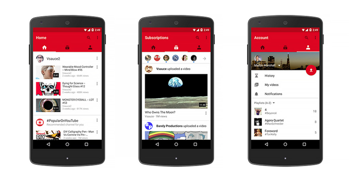 you tube application free download for mobile