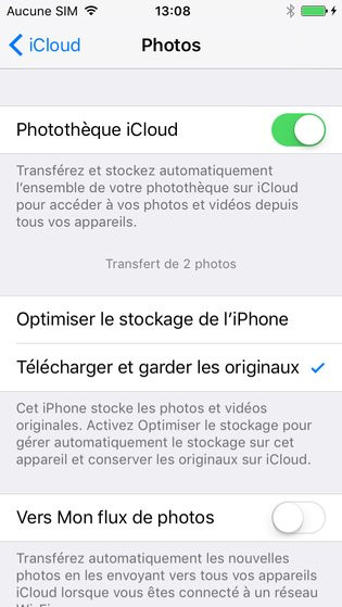 supprimer application iphone mise a jour