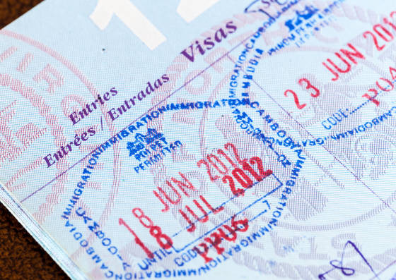usa visa entry from application contry